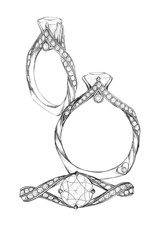 desenhar uma joia