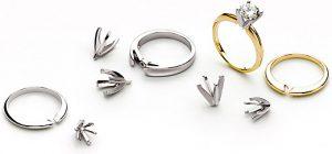 anel de noivado desenhe a sua joia